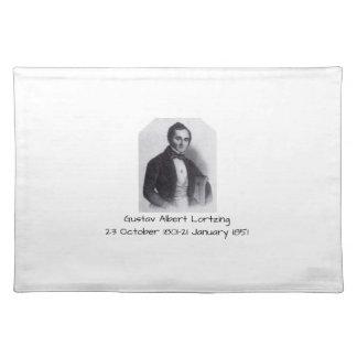 Gustav Albert Lortzing Placemat