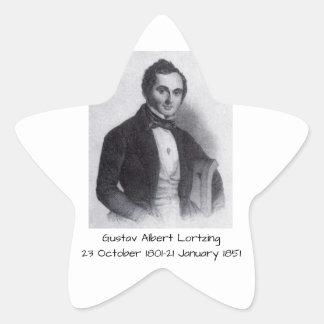 Gustav Albert Lortzing Star Sticker
