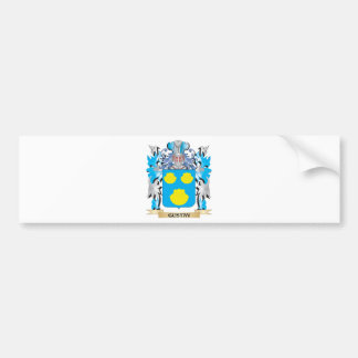 Gustav Coat of Arms - Family Crest Bumper Stickers