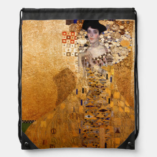Gustav Klimt, 1907 Portrait of Adel Bloch Bauer. Backpack
