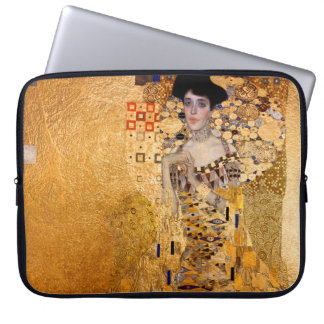 Gustav Klimt, 1907 Portrait of Adel Bloch Bauer Laptop Sleeve