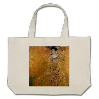 Gustav Klimt - Adele Bloch-Bauer I. Canvas Bags
