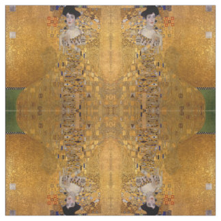 Gustav Klimt - Adele Bloch-Bauer I. Fabric