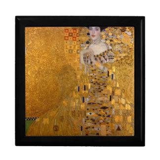 Gustav Klimt - Adele Bloch-Bauer I. Large Square Gift Box