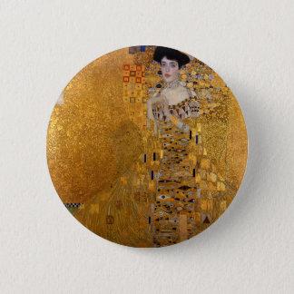 Gustav Klimt - Adele Bloch-Bauer I Painting 6 Cm Round Badge