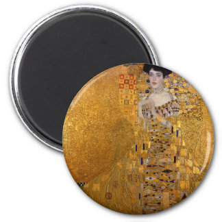 Gustav Klimt - Adele Bloch-Bauer I Painting Magnet