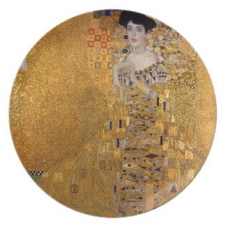 Gustav Klimt - Adele Bloch-Bauer I Painting Plate