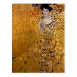 Gustav Klimt - Adele Bloch-Bauer I. Postcard