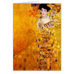 Gustav Klimt Adele Bloch-Bauer Vintage Art Nouveau