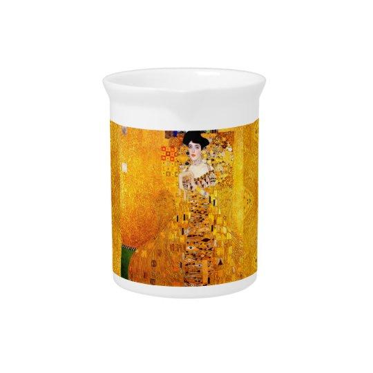 Gustav Klimt Adele Bloch-Bauer Vintage Art Nouveau Beverage Pitchers