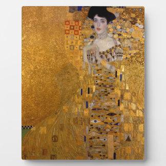 Gustav Klimt // Adele Bloch-Bauer's Portrait. Plaque