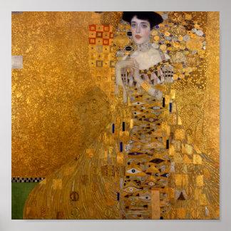 Gustav Klimt // Adele Bloch-Bauer's Portrait Poster