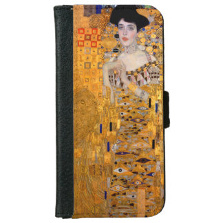 "Gustav Klimt ""Adele"" Vintage iPhone 6 Wallet Case"