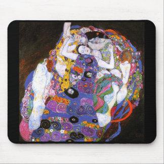 Gustav Klimt and The Virgins Mouse Pad