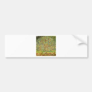 Gustav Klimt Apple Tree Bumper Sticker