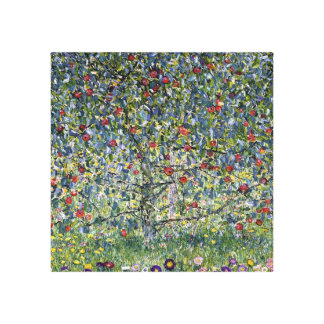 Gustav Klimt Apple Tree Canvas Print