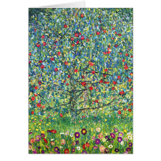 Gustav Klimt: Apple Tree Card