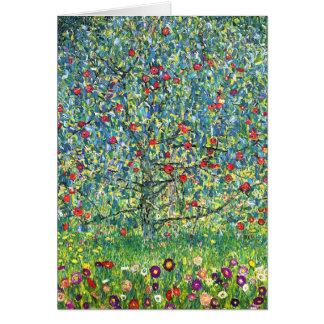 Gustav Klimt: Apple Tree Greeting Cards