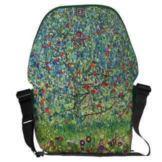 Gustav Klimt: Apple Tree Messenger Bag