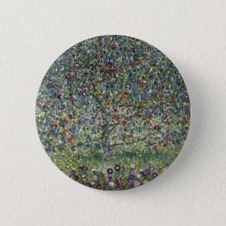 Gustav Klimt - Apple Tree Painting 6 Cm Round Badge