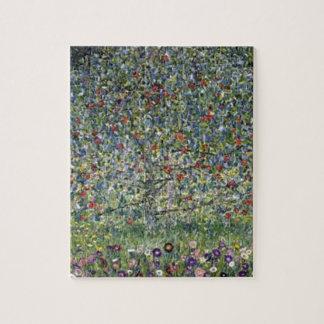 Gustav Klimt - Apple Tree Painting Jigsaw Puzzle