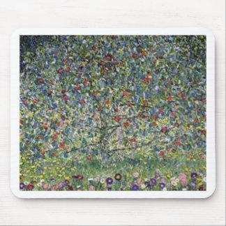 Gustav Klimt - Apple Tree Painting Mouse Pad