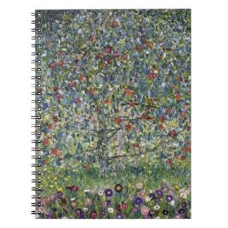 Gustav Klimt - Apple Tree Painting Notebook