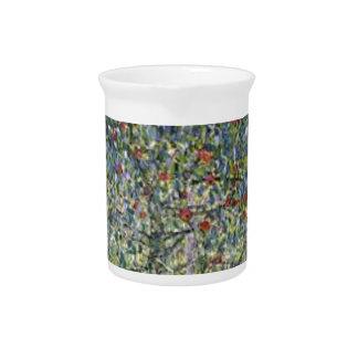 Gustav Klimt - Apple Tree Painting Pitcher