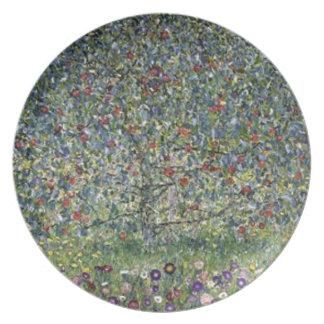 Gustav Klimt - Apple Tree Painting Plate