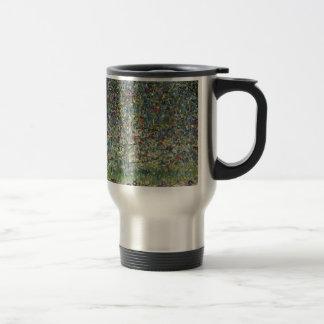 Gustav Klimt - Apple Tree Painting Travel Mug