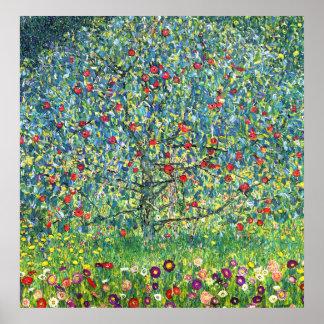 Gustav Klimt Apple Tree Print