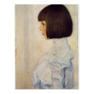 Gustav Klimt Art Postcard
