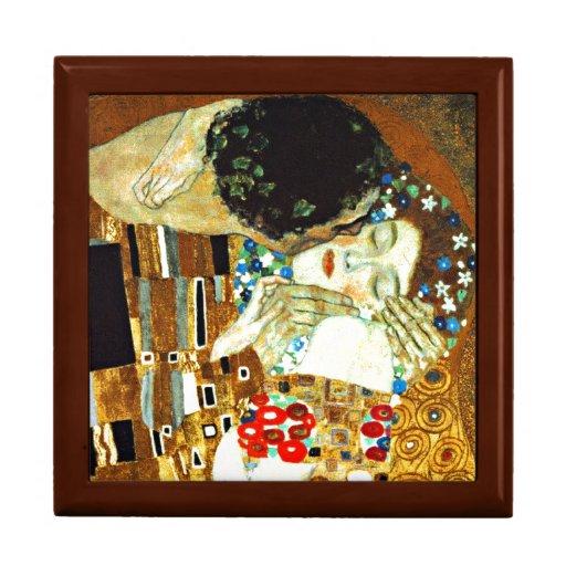 Gustav Klimt art - The Kiss Keepsake Box