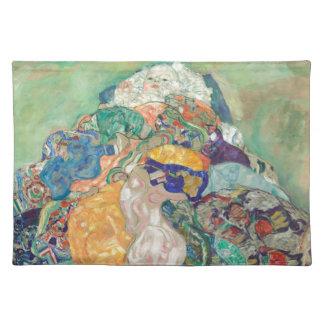 Gustav Klimt Baby Cradle Placemat