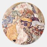 Gustav Klimt ~ Baby Stickers