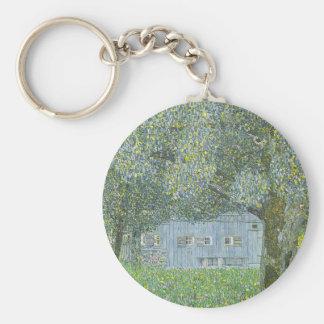 Gustav Klimt - Bauerhaus in Buchberg Painting Key Ring