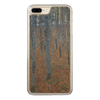 Gustav Klimt Beech Grove Art Nouveau GalleryHD Carved iPhone 8 Plus/7 Plus Case
