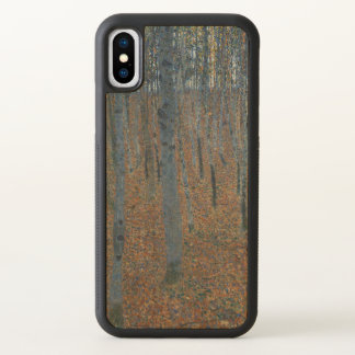 Gustav Klimt Beech Grove Art Nouveau GalleryHD iPhone X Case