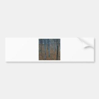 Gustav Klimt  Beech Grove Bumper Stickers