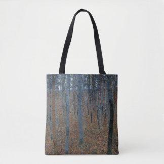 Gustav Klimt Beech Grove GalleryHD Fine Art Tote Bag