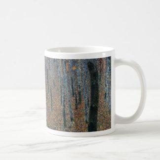 Gustav Klimt - Beech Grove. Trees Nature Wildlife Coffee Mug