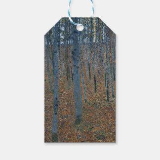 Gustav Klimt - Beech Grove. Trees Nature Wildlife Gift Tags