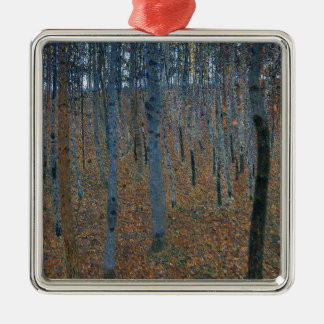 Gustav Klimt - Beech Grove. Trees Nature Wildlife Metal Ornament