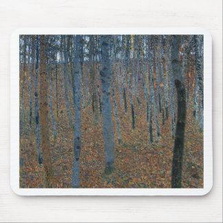 Gustav Klimt - Beech Grove. Trees Nature Wildlife Mouse Pad