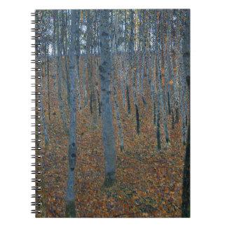 Gustav Klimt - Beech Grove. Trees Nature Wildlife Notebook