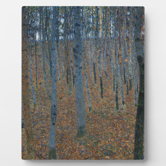 Gustav Klimt - Beech Grove. Trees Nature Wildlife Plaque