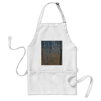 Gustav Klimt - Beech Grove. Trees Nature Wildlife Standard Apron