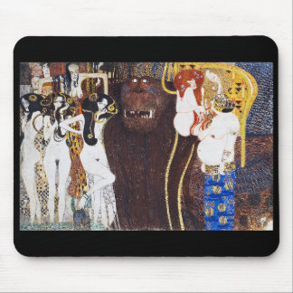 "Gustav Klimt, ""Beethovenfries"" Mouse Pad"