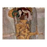 Gustav Klimt ~ Beethovenfries Postcard