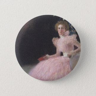 Gustav Klimt - Bildnis Sonja Knips Portrait 6 Cm Round Badge